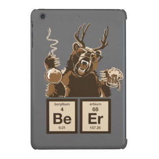 Chemistry bear discovered beer iPad mini cover