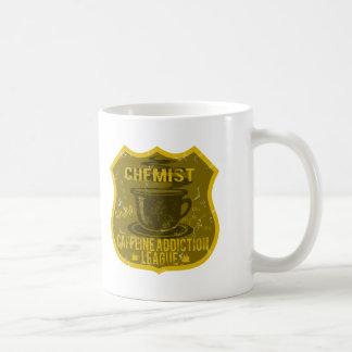 Chemistry Caffeine Addiction League Coffee Mug