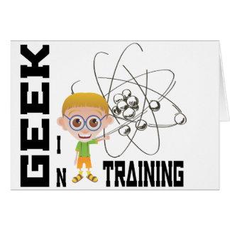 Chemistry Geek in Training Card