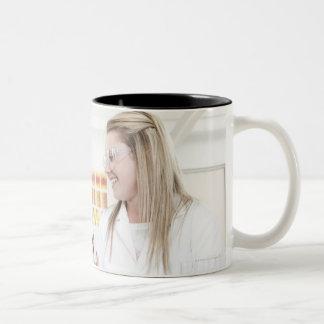 Chemistry lesson. Two-Tone mug