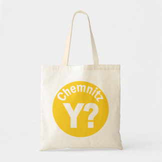 Chemnitz Why Tote Bag