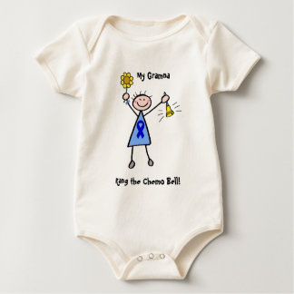 Chemo Bell - Colon Cancer Woman Baby Bodysuit