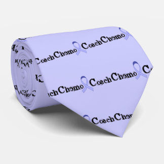 Chemo Coach - General Cancer Lavender Ribbon Tie