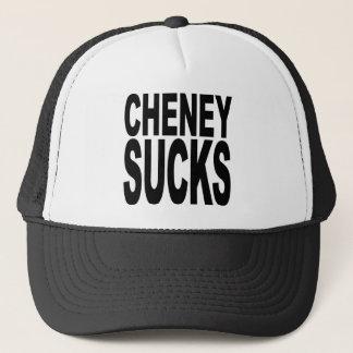 Cheney Sucks Trucker Hat