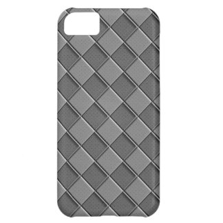 Chequered Leather iPhone 5C Case