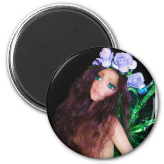cherie by proudlittlepixie creations 6 cm round magnet