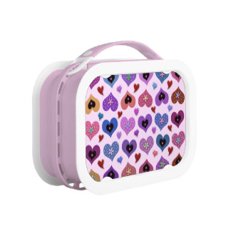 Cherished Hearts Lunch Box
