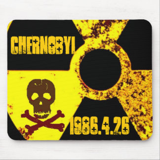 Chernobyl memorial anti nuclear mouse pad