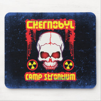 Chernobyl Strontium-90 Skull Mouse Pad