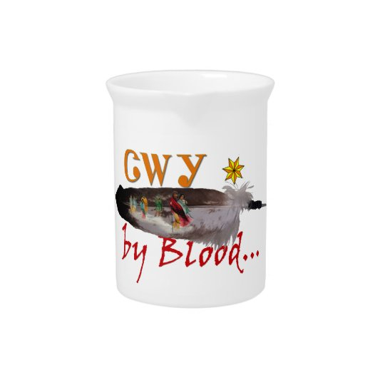 Cherokee by Blood Pitcher