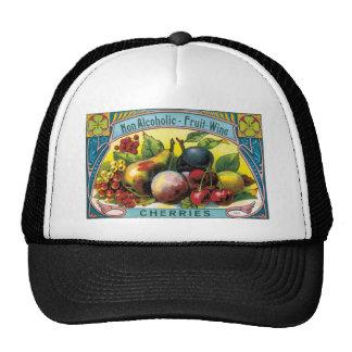 CHERRIES FRUIT WINE TRUCKER HAT