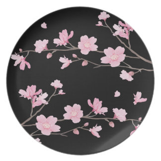 Cherry Blossom - Black Plate
