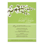 Cherry Blossom Bridal Shower Invitation (apple) 13 Cm X 18 Cm Invitation Card