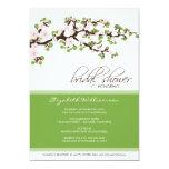 Cherry Blossom Bridal Shower Invitation (green)