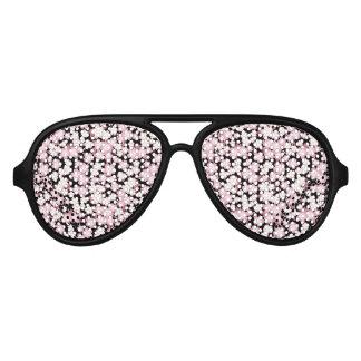Cherry Blossom - Japanese Sakura- Aviator Sunglasses