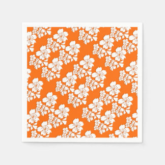 Cherry blossom orange sakura spring disposable serviette