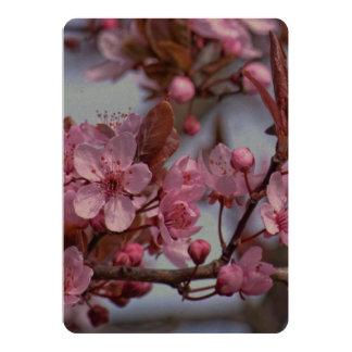Cherry Blossom Pink Style 13 Cm X 18 Cm Invitation Card
