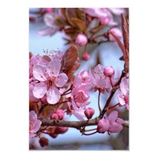 Cherry Blossom Pink Style 9 Cm X 13 Cm Invitation Card