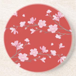 Cherry Blossom - Red Coaster