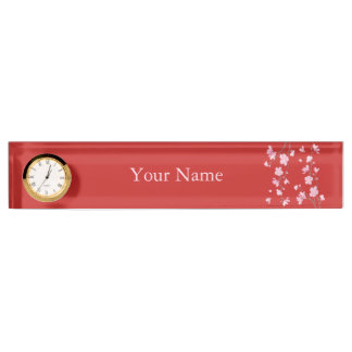Cherry Blossom - Red Nameplate
