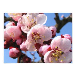 Cherry Blossom Sakura 5.5x7.5 Paper Invitation Card