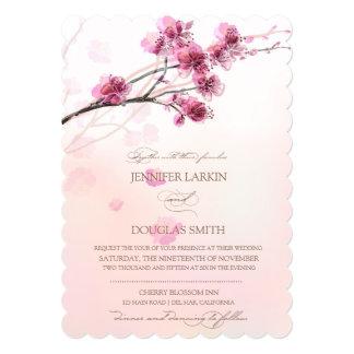 Cherry Blossom/Sakura Wedding Invitations