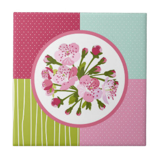 Cherry Blossom Tile