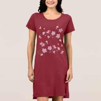 Cherry Blossom - Transparent-Background Dress