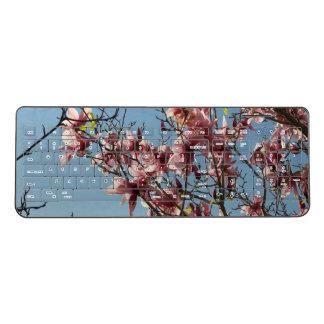 Cherry Blossom Wireless Keyboard