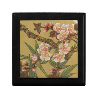 Cherry Blossoms Asian Japanese Art Gift Box