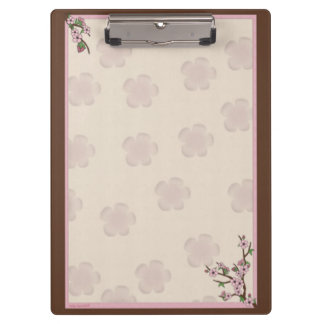 Cherry Blossoms Clipboard