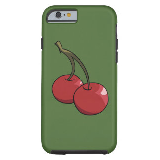 Cherry Cherries in red Tough iPhone 6 Case