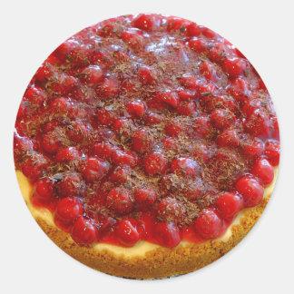 Cherry Graham  Cheesecake Sticker