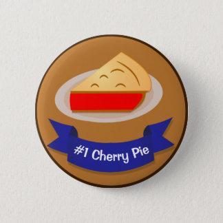 Cherry Pie Winner With Ribbon 6 Cm Round Badge
