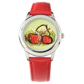 Cherry Red Watch