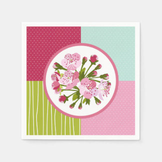 Cherry Tree Flowers Paper Serviettes