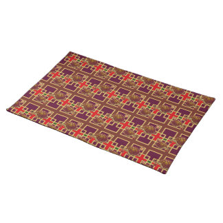 Cherry Turtle Pattern Placemat