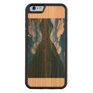 Cherry wood iPhone case