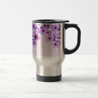 cherryblossom.jpg stainless steel travel mug