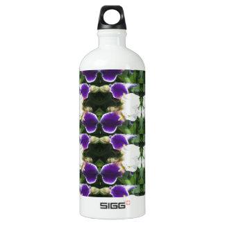 CherryHILL Purple Flower Pattern NVN220 NavinJOSHI Water Bottle