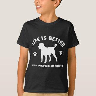 chesapeak Bay retrier dog design T-Shirt