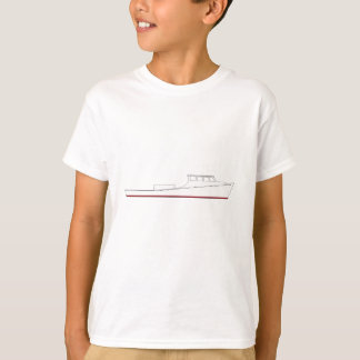 Chesapeake Bay deadrise boat (full cabin) T-Shirt