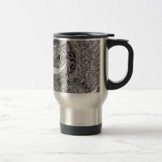 Cheshire Cat Design Travel Mug