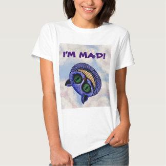 """CHESHIRE CAT """"I'M MAD!"""" ~ T SHIRT"""