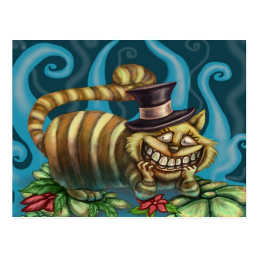 Cheshire Cat Post Card