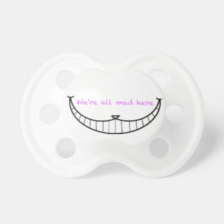 Cheshire Cat Smile Pacifiers