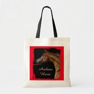 Chesnut Arabian Horse Tote Bag