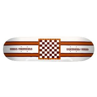 chess/checkers skateboard