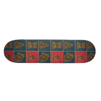 Chess Squares Skateboard Deck