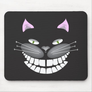 """Chester the Cat"" smiling cute cheshire kitty Mouse Pad"
